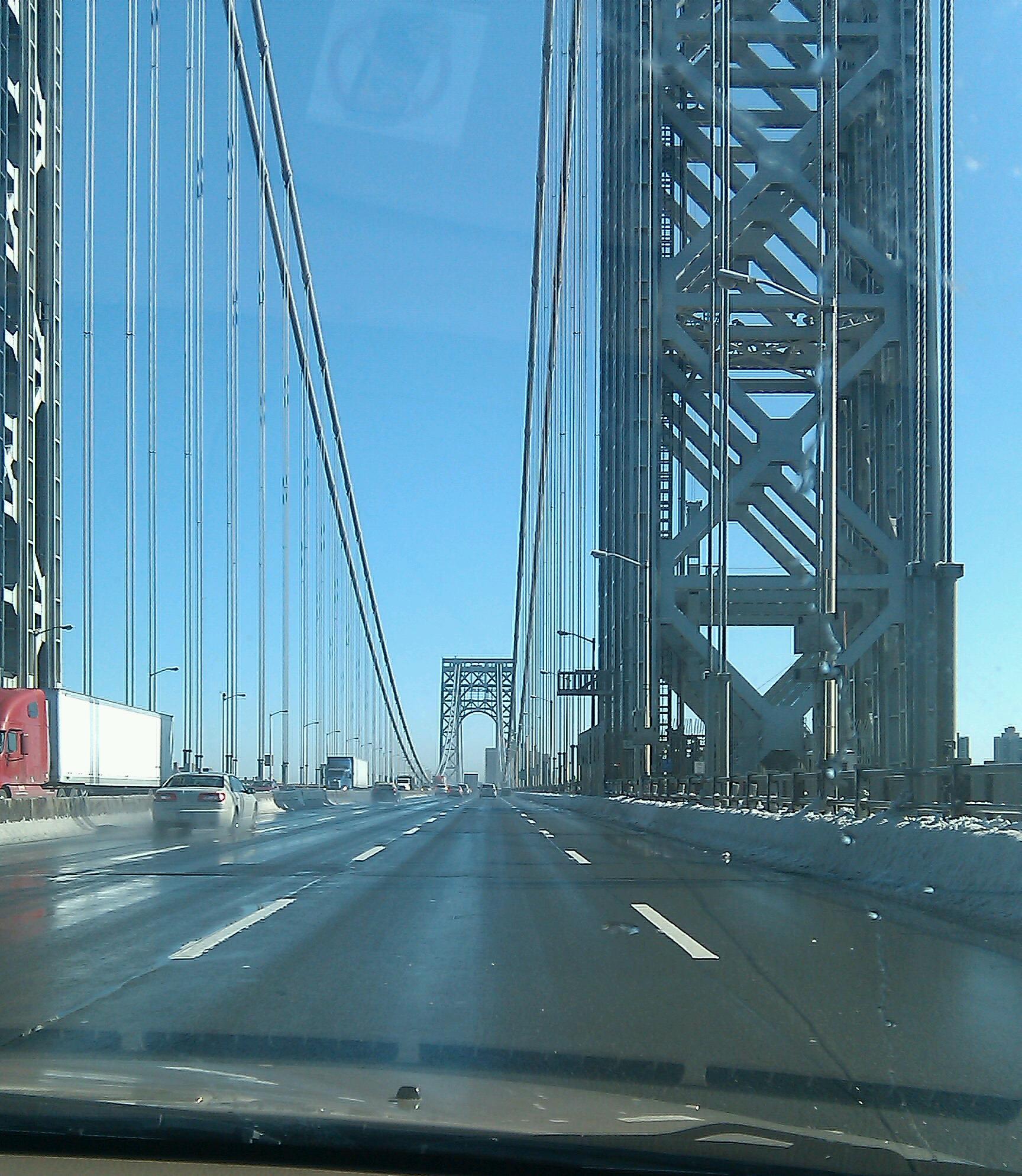 ニューヨークからニュージャージーへ